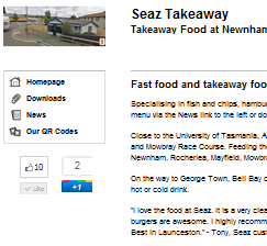 takeaway food launceston
